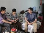 """迎""""七一""""送温暖 ——绵阳市中医医院走访慰问退休党员和困难党员"""