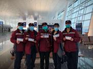 2020欧洲杯官方平台第三批医疗队员进驻武汉市武昌医院