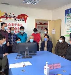 四川省新冠肺炎患者中医药专家组来绵阳巡诊