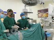 """绵阳市中医医院运用腹腔镜微创技术为一巨脾患者去除""""啤酒肚"""""""