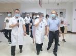 绵阳市人大常委会主任付康视察市中医医院常态化疫情防控工作