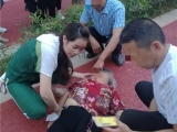 市民散步突发疾病,绵阳市中医医院医生路过紧急施救