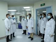 院领导春节慰问值守一线医务人员和住院病员